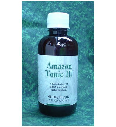 Amazon Tonic III  (8oz) Formerly sold as Cansema