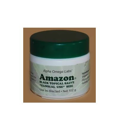 Amazon Black Topical Salve (102g) Formerly sold as Cansema