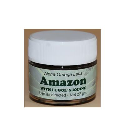 Amazon Salve with Iodine (22g) Formerly sold as Cansema