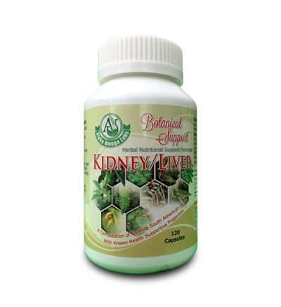 Botanical Support - Kidney/Liver - 120 Capsules x 500mg