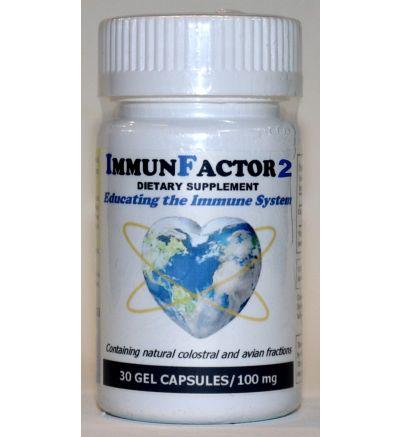 ImmunFactor 2 (30 Caps x 100 mg.)