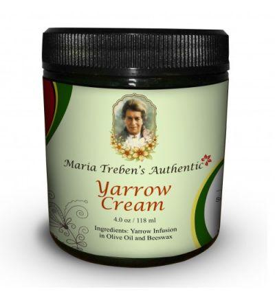 Maria Treben's Authentic Yarrow Cream (4oz/118ml)
