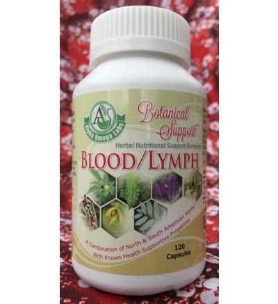 Botanical Support - Blood/Lymphoma - 120 Capsules x 500mg