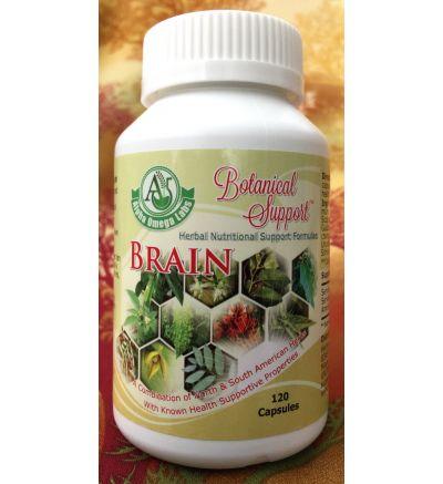 Botanical Support - Brain - 120 Capsules x 500mg