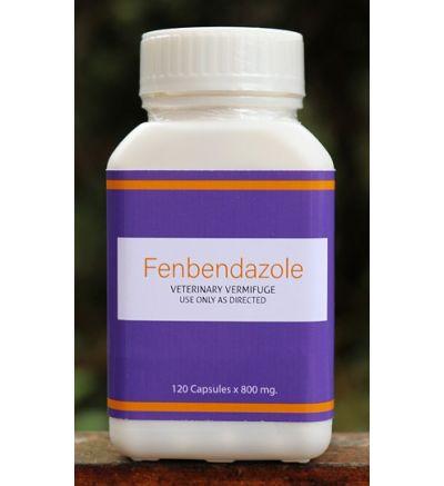 Fenbendazole (120 Capsules x 800 mg)