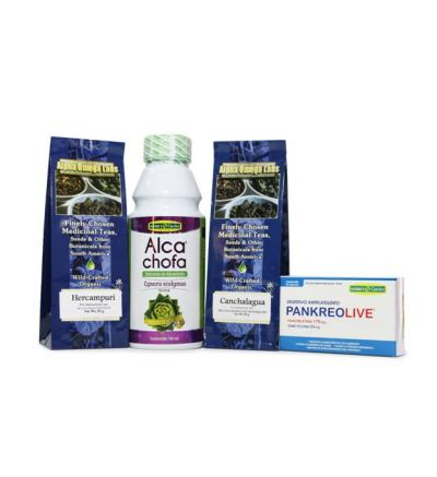 Weight Loss Assist Bundle – Alcachofa, Hercampuri, PankeoLive, Canchalagua