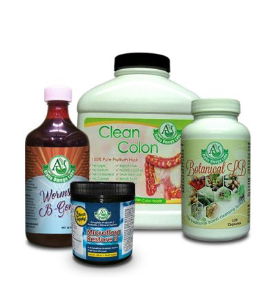 Liver/Colon Cleansing Program Bundle #1 - SAVE $21