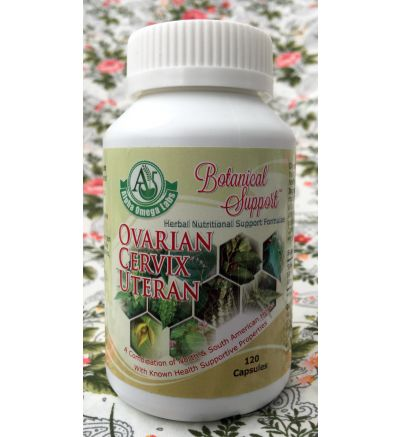 Botanical Support - Ovarian/Cervical/Uteran - 120 Capsules x 500mg