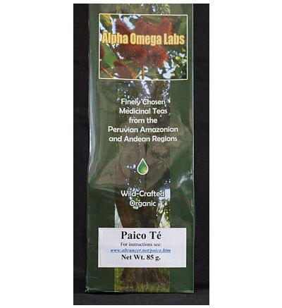 Paico Leaf Tea (Tea leaves of Dysphania ambrosioides and Mentha piperita)