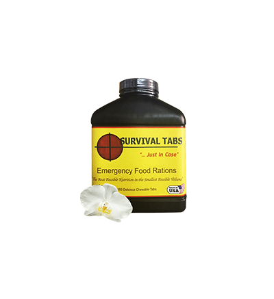 Survival Tabs-Vanilla (FREE SHIPPING in the U.S. and Canada)