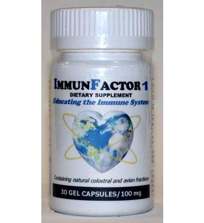 ImmunFactor 1 (30 Caps x 100 mg.)