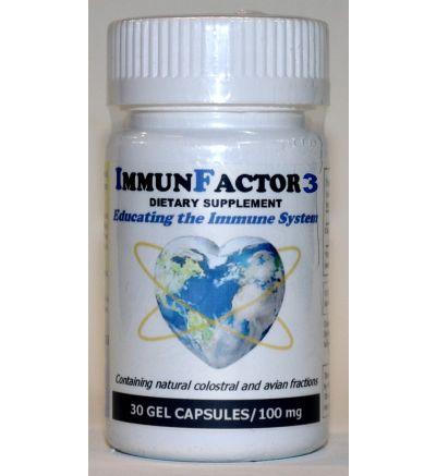 ImmunFactor 3 (30 Caps x 100 mg.)
