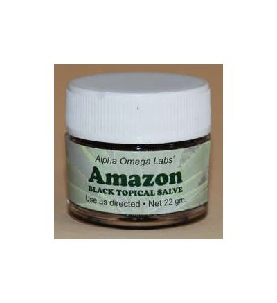Amazon Black Topical Salve (22g) Formerly sold as Cansema
