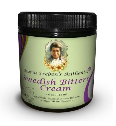 Maria Treben's Authentic Swedish Bitters Cream (4oz/118ml)