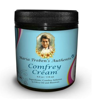 Maria Treben's Authentic Comfrey Cream (4oz/118ml)