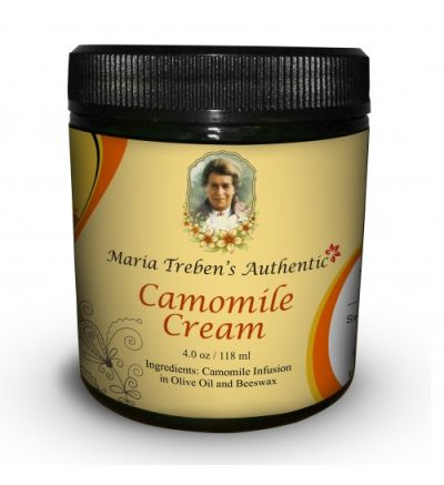 Maria Treben's Authentic Chamomile Cream (4oz/118ml)
