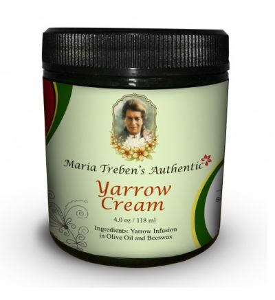 Maria Treben's Authentic Yarrow Cream (4oz/118ml)