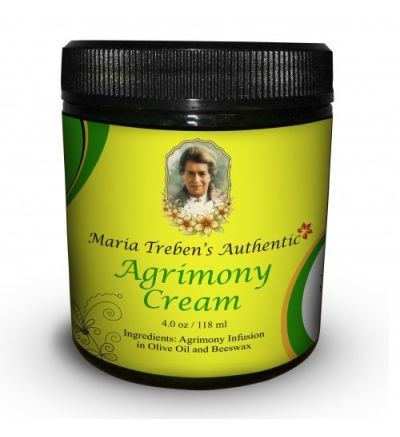 Maria Treben's Authentic Agrimony Cream (4oz/118ml)