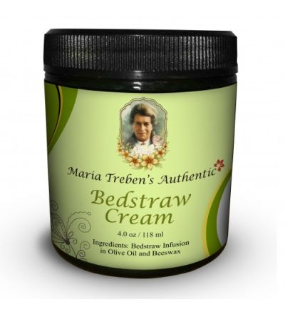Maria Treben's Authentic Bedstraw Cream (4oz/118ml)