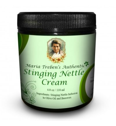 Maria Treben's Authentic Stinging Nettle Cream (4oz/118ml)