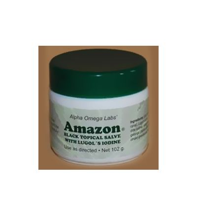 Amazon Salve with Iodine (102g) Formerly sold as Cansema