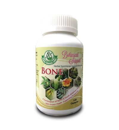 Botanical Support - Bone - 120 Capsules x 500mg