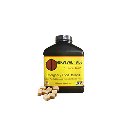 Survival Tabs-Butterscotch (FREE SHIPPING in the U.S. and Canada )