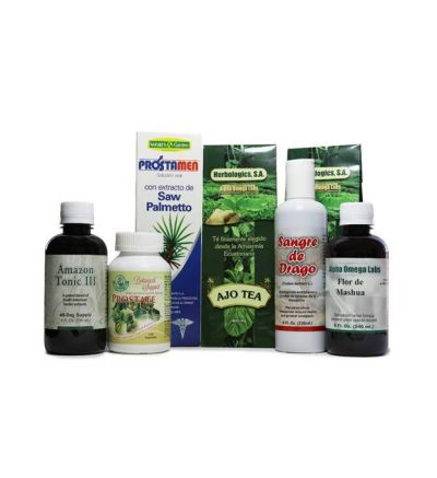 Botanical Support -- Prostate #1 Bundle (with Flor de Mashua)