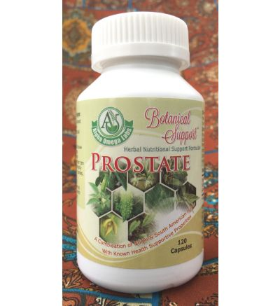 Botanical Support - Prostate - 120 Capsules x 500mg