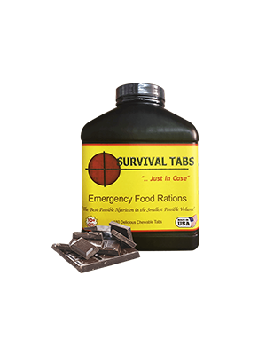 Survival Tabs-Chocolate (FREE SHIPPING in the U.S. and Canada)