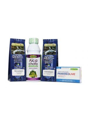 Weight Loss Assist Bundle – Alcachofa, Hercampuri, PankeoLive, Canchalagua
