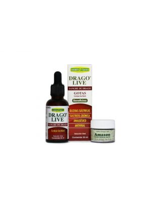 Amazon Black Topical Salve (22g.) with Drago Live (30 ml.)